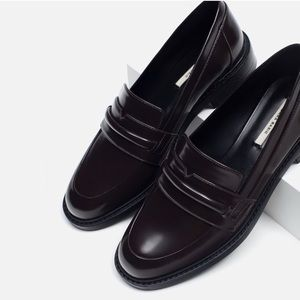 ZARA Basic Loafers
